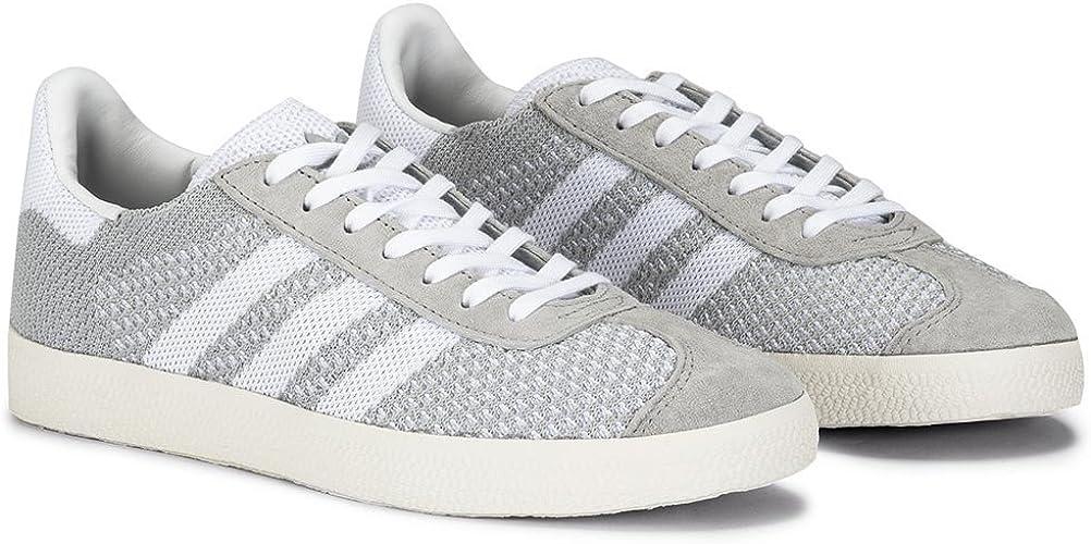 Adidas Gazelle Primeknit Gris - Zapatillas Mujer - Gris, 37 ...