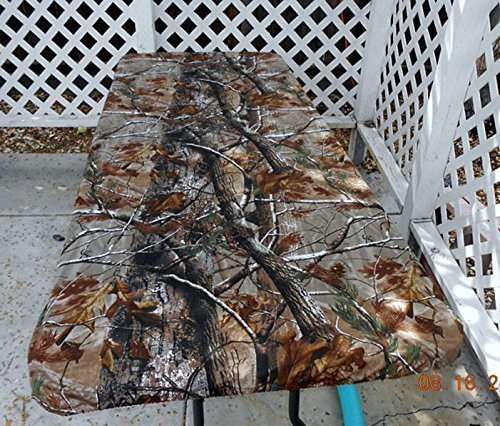 Fitted Realtree AP Camo Canvas Tablecloth Table Cover for tables up to 6 ft. and widths up to 36