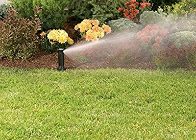 "Orbit 55662 Voyager II Professional 4"" Adjustable Pop-Up Gear Drive Rotor Sprinkler Spray Head, 40° To 360° Pattern, 25' - 52' Spray Distance"