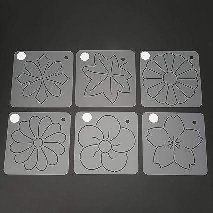Amazon. Com: sunshine quilt block stencil template reusable.