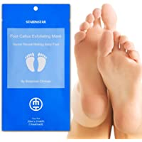 [STARINSTAR] Foot Callus Exfoliating Mask 2 packs ( 2 pairs), Secret Reveal Making Baby Foot by Botanical Choices- Papaya, Lemon, Apple,Orange extracts, Start Peeling off in 4-7 days after use, Removed further 3-5 days depending on their thickness