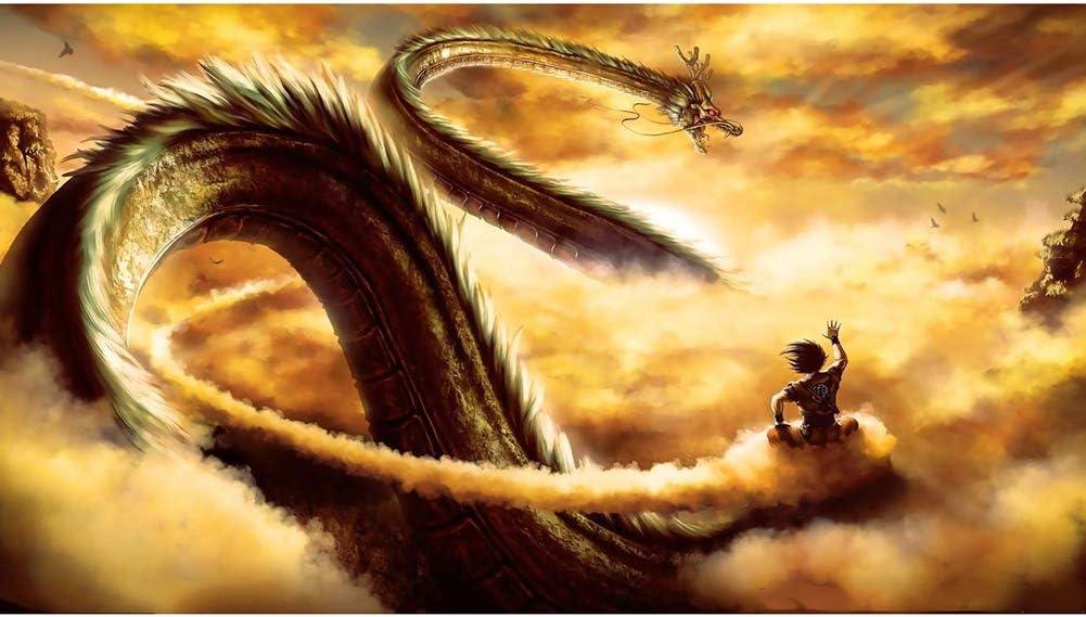 XLST Puzzles De Anime De Dibujos Animados 1000 Piezas Puzzle De Dragon Ball Z De Madera, para Juguetes Educativos para Niños Adultos Juego De Rompecabezas (75 * 50 Cm),2