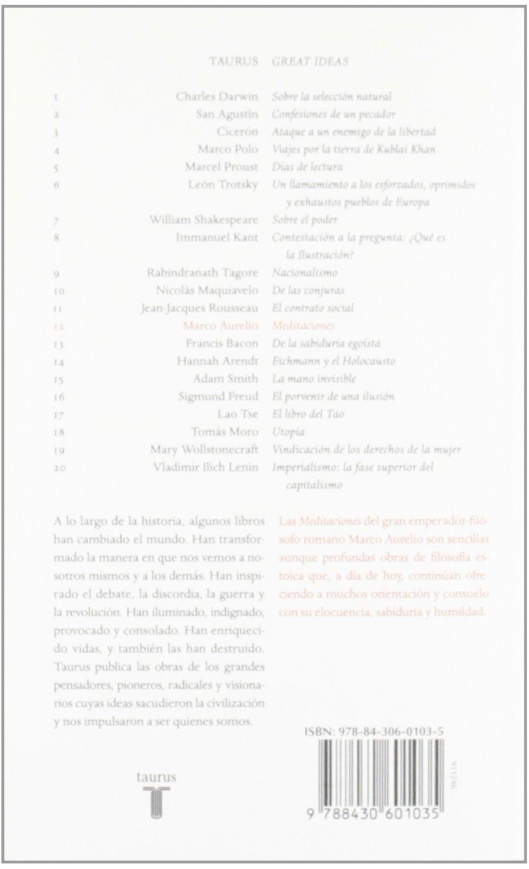 Meditaciones (Serie Great Ideas 12): Amazon.es: Marco Aurelio: Libros