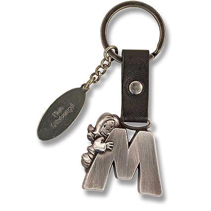 Ángel de la guarda llavero letra M: Amazon.es: Hogar