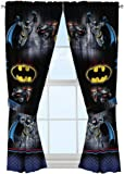 "Warner Bros Batman Safe Again Window Drapes, 82 x 63"""