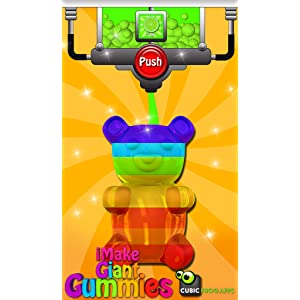 iMake Giant Gummies-Free Gummy Maker by Cubic Frog Apps ...
