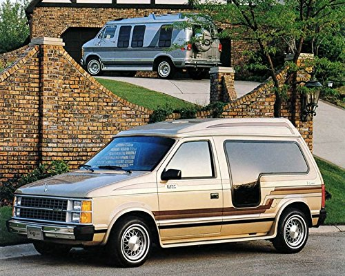 Dodge Conversion Van >> Amazon Com 1985 Dodge Bivouac Conversion Van Minivan