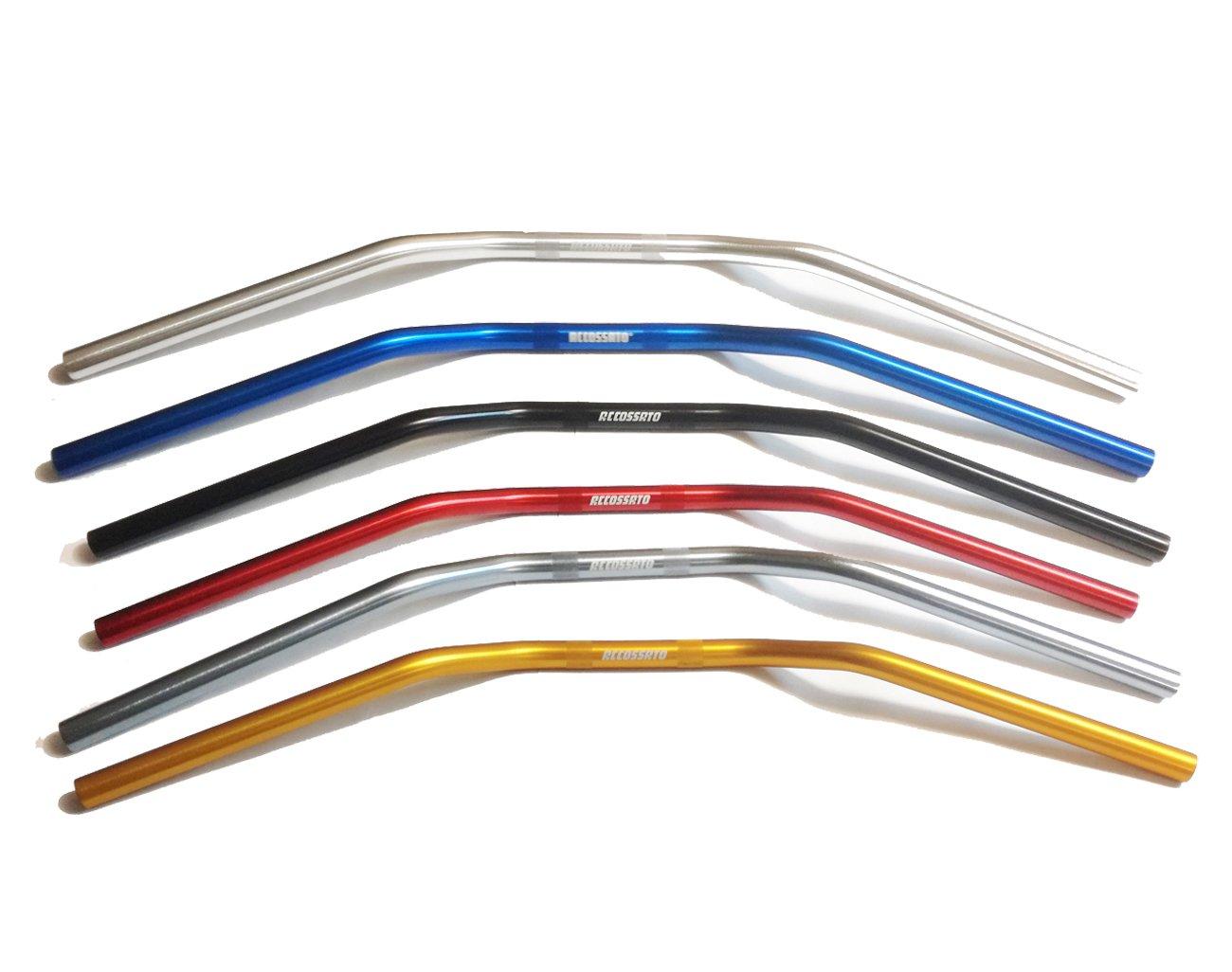 Accossato Manubrio Superbike Alluminio HB152 piega alta* (ROSSO)