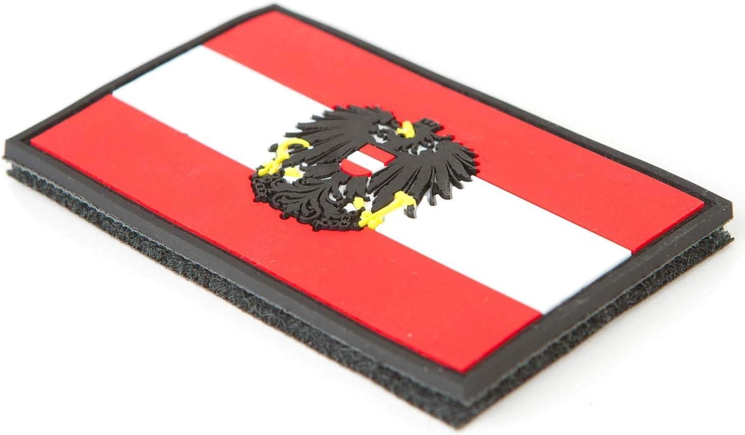 STEINADLER - Bandera de Austria de PVC, Parche de Velcro como ...