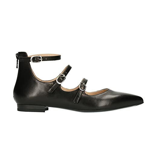 Ballerine Nero Giardini P805541DE 100 5541 in pelle nero