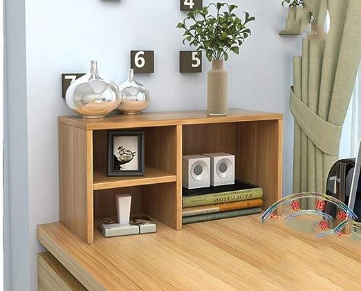 Estante de Escritorio pequeño Estante, Oficina librería Simple ...