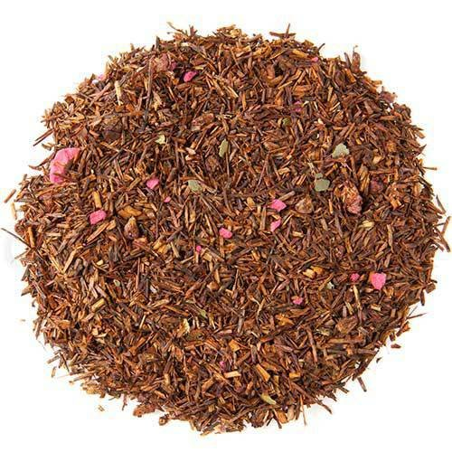 The Spice Lab No. 254 - Raspberry Premium Gourmet Rooibos Tea, 1 lb Resealable Bag