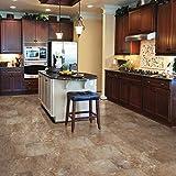 Select Surfaces Mountain Slate Click Luxury Vinyl Tile Flooring - 4 Boxes