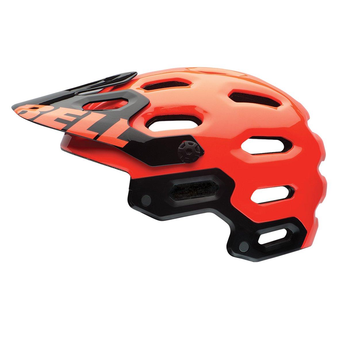Super 2 MIPS Enduro Helm Farbe Rot