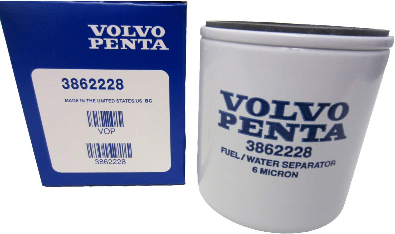 Amazon.com: OEM Volvo Penta Gasoline Spin-On Fuel Filter 1994-2007 V6/V8  Models 3862228: Automotive | Volvo Boat Fuel Filter Location |  | Amazon.com