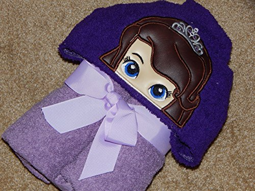 Sofia The First Kid's Hooded Towel - 3