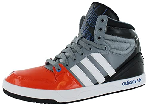 finest selection 7427c 67a15 adidas Mens Court Attitude ColoraRunning WhiteBlack1 Ankle-High Leather  Fashion Sneaker