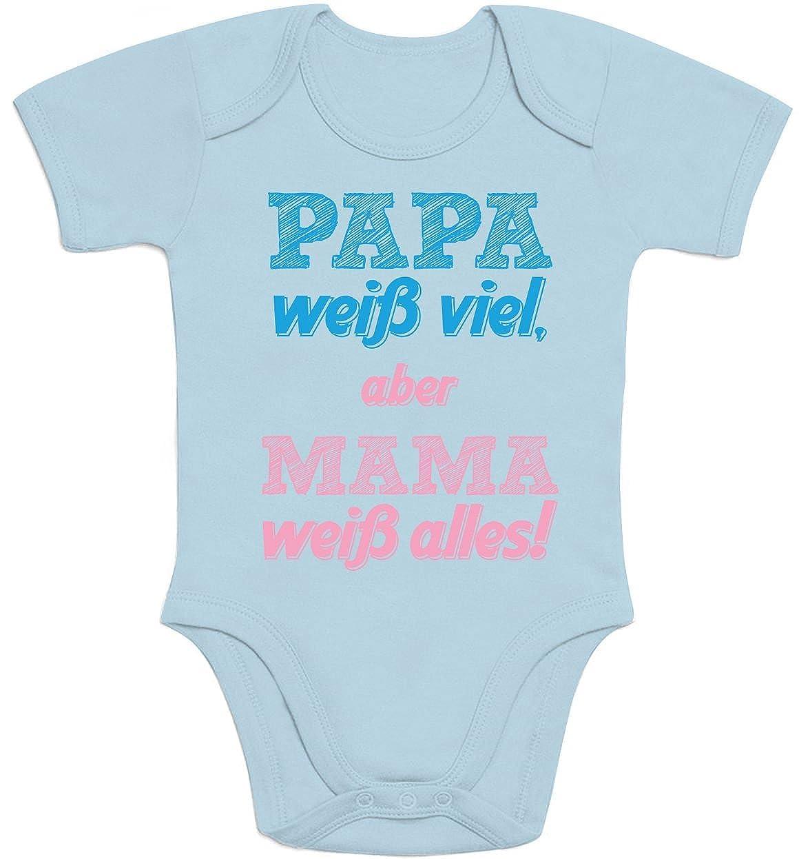 Wer Braucht Schon Superhelden Ich Hab Papa Unisex Baby T-Shirt Gr 66-93