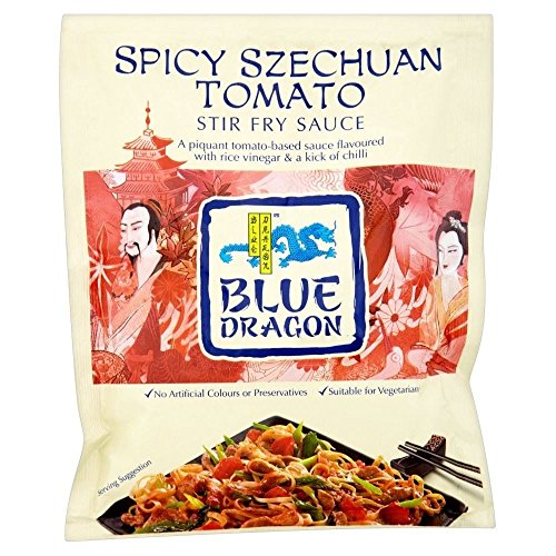 Blue Dragon Stir Fry Sauce - Szechuan Spicy Tomato (120g) (Sauce Stir Szechuan Fry)