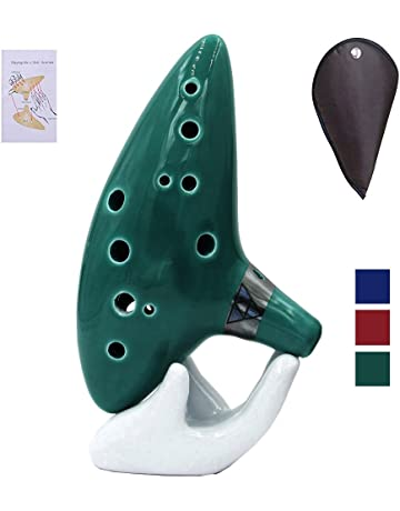 Ocarina Instrument 12 Hole Ocarina Zelda Alto C With Songbook Bag Rope And