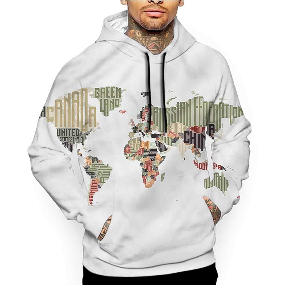 Unisex 3D Novelty Hoodies Winter,City Park Sunset Forest,Sweatshirts for Girls