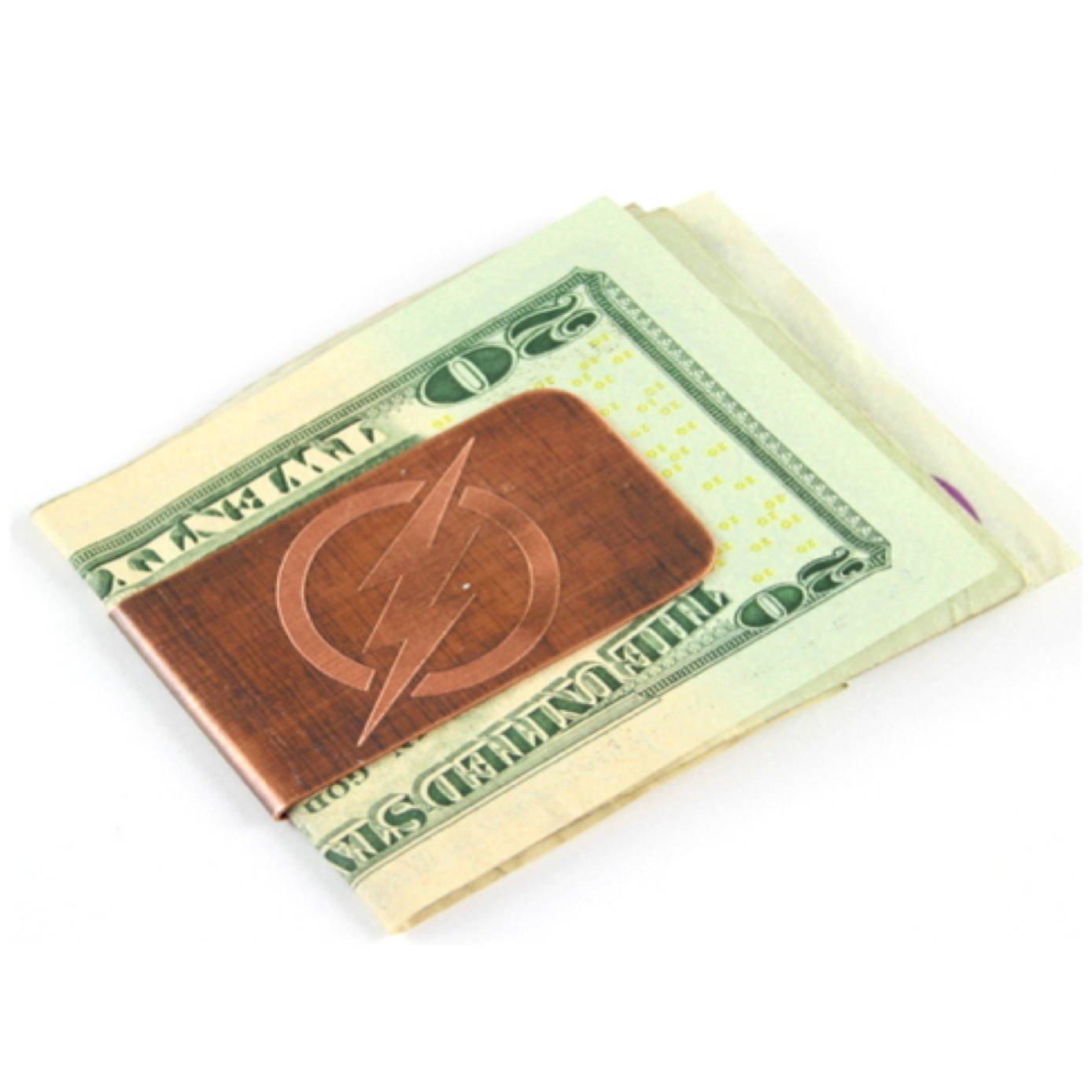 Engraved & Antiqued Copper Money Clip - Superman - Husband gift, Boyfriend Gift, Marvel Comics, DC Comics, Avengers