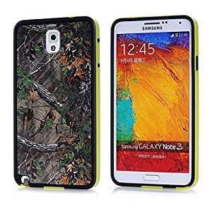 The Latest Fashion TPU Soft Material + Rich And Colorful Personal Slim Design Phone Cover Skin Protective Cover Retail Packaging And A simple Detachable Keychain High-End Business Gifts For The Samsung Galaxy Note3 Note 3 III N9000 N9002 N9005 N9009 Case (Palm branches)