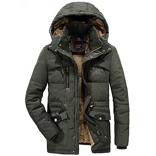 Marke herren winter jacke Verdickt Winddicht Warme Mantel