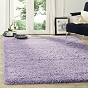Safavieh California Premium Shag Collection SG151-7272 Lilac Area Rug (5'3  x 7'6 )