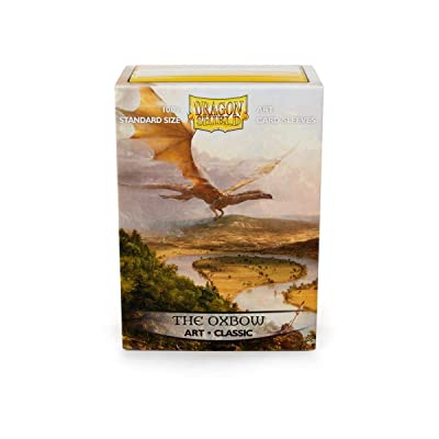 Arcane Tinman Dragon Shield: Limited Edition Art: The Oxbow - Box of 100 Sleeves, Standard AT-12016: Toys & Games