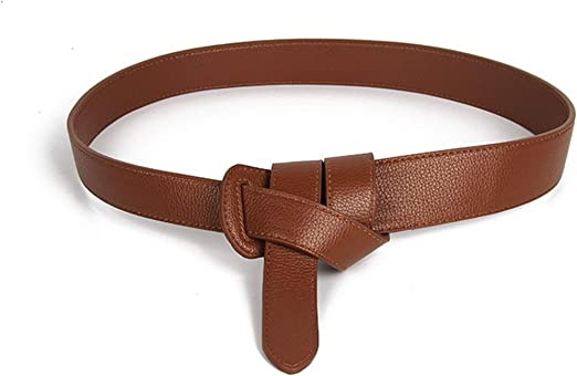 Female Belts For Women Bow Thin Leather Jeans Loop Strap Dress Coats Accessories