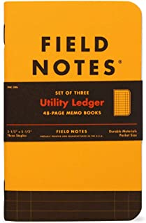 product image for Field Notes Utility Special Edition Ledger Memo Books, 3-Pack (3.5x5.5-Inch) Spring 2017
