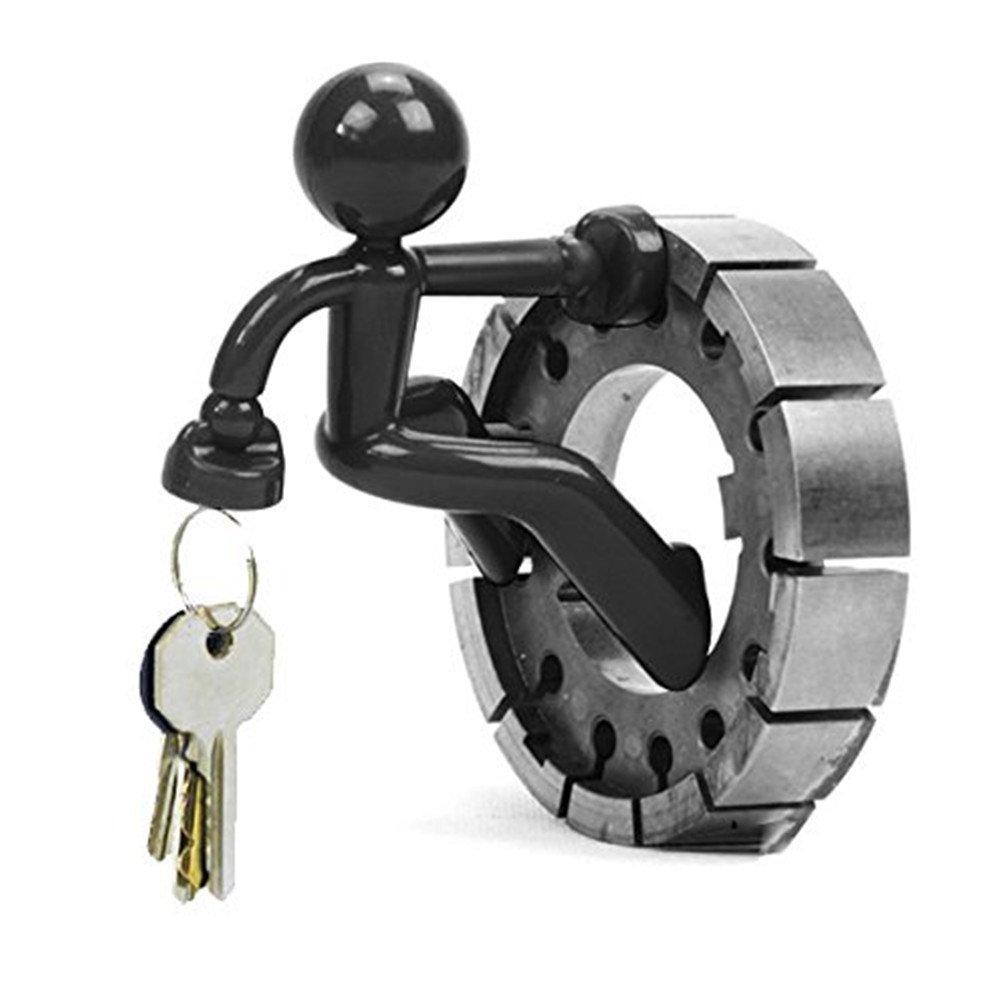 TRIXES, Omino magnetico nero porta chiavi, novità