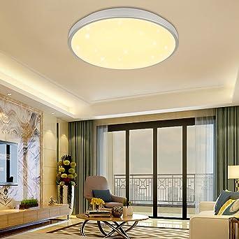 LED Deckenleuchte Deckenlampe Sternenhimmel  Badleuchte Wohnzimmer Warmweiß 50W