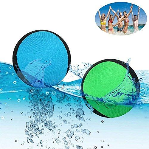 2 Pack Water Bouncing Balls Surf Skipping Ball Fun Wave Runner Beach Toys by BALANSOHO