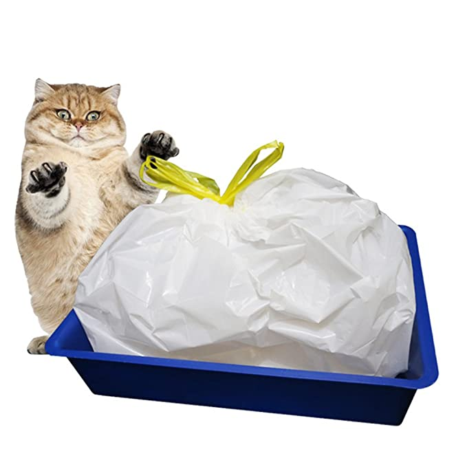 Amazon.com: Amyove 1 Bolsa de (7PCS), Bolsa para retrete de gato, Bolsa resistente para caca de mascota, Cat Litter Bag Kitten Hygienic Litter Box Liners ...