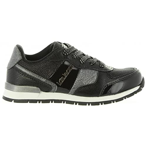 Zapatillas Deporte de Mujer y Niña LOIS JEANS 83847 26 Negro: Amazon.es: Zapatos y complementos