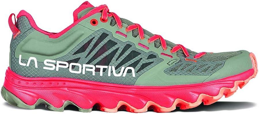 La Sportiva Helios III - Zapatillas de running para mujer, (Arcilla/Hibisco), 42 EU: Amazon.es: Zapatos y complementos