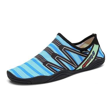 QXHELI Unisexo Descalzo Zapatos de agua Ligero Cómodo Transpirable ...