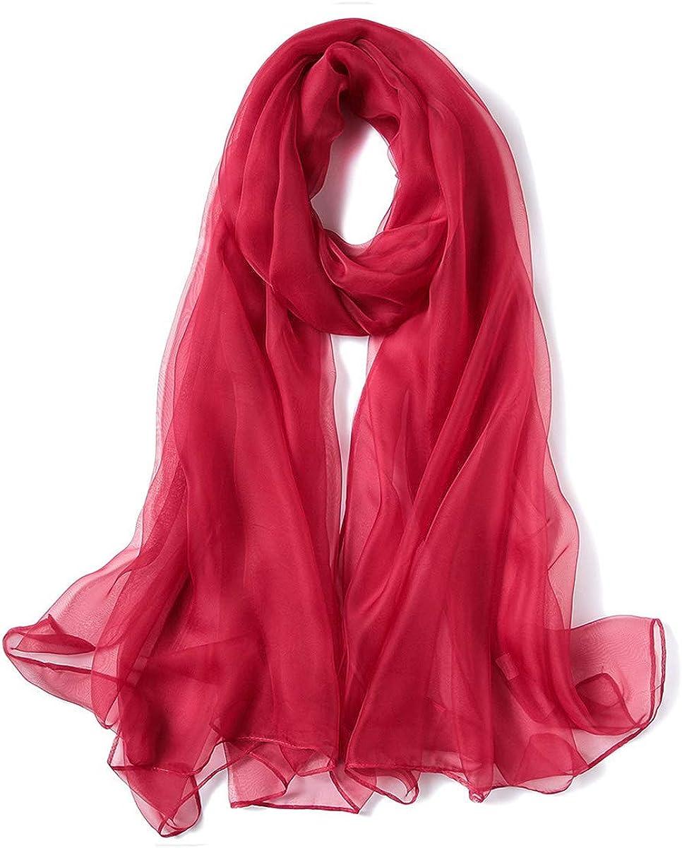 K-Elewon Solid Color Silk...
