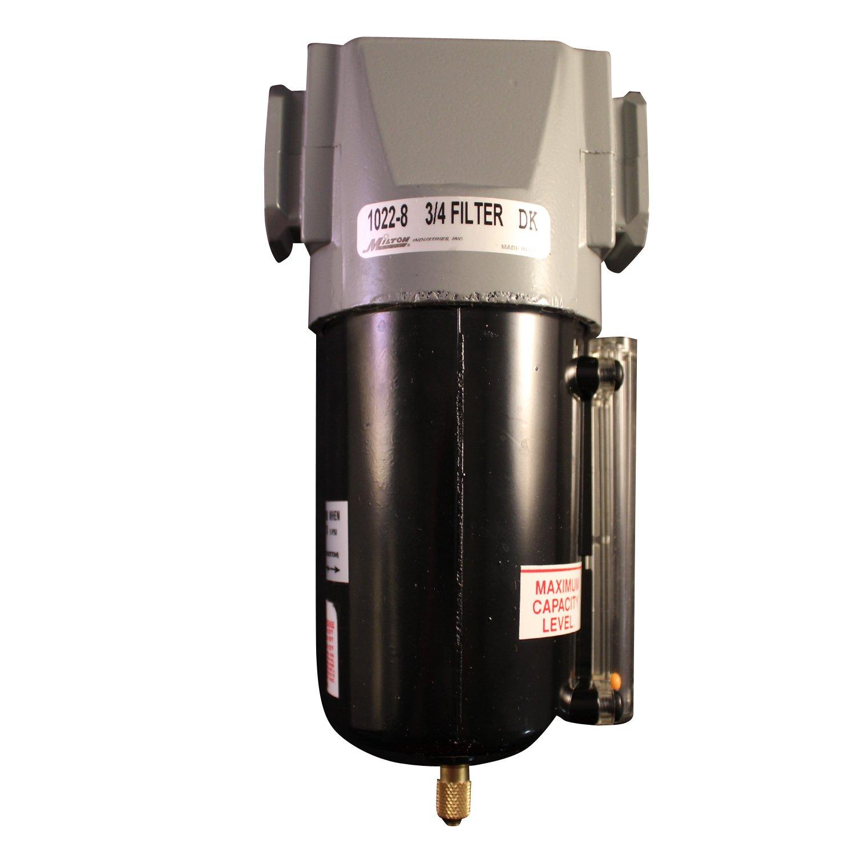 Milton 1022-8 3/4'' NPT Metal FRL Micro Filter