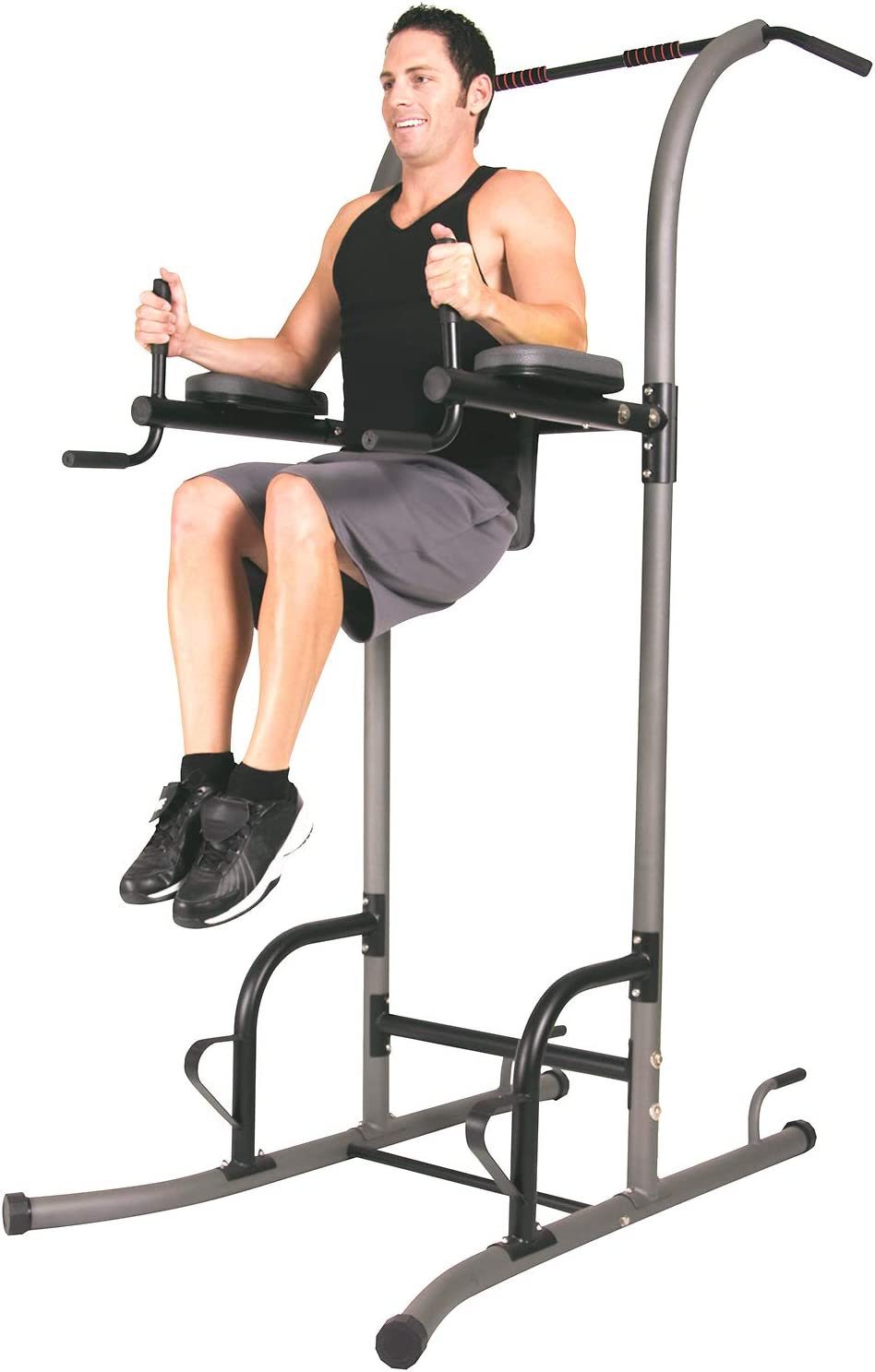 power towers with pull-up dip station