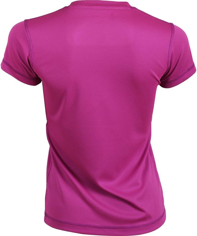 Eclypse Camiseta Tecnica Mujer Fucsia/Morado