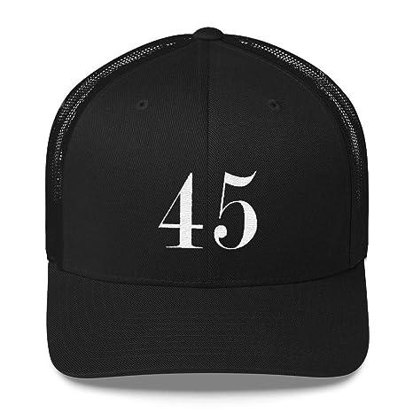 Amazon.com   Donald Trump 45 President The USA Trucker Cap MAGA Hat ... 6245da32e14
