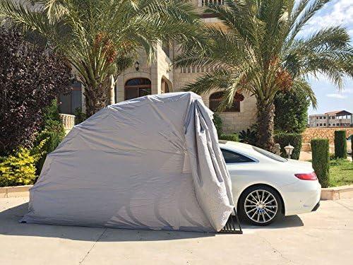 Ikuby SUV Carport, Car Shelter, Car Canopy, Car Garage, Car shed, Car House, Car Park, Foldable, Retractable, Lockable, Durable Shelter