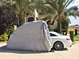 Super Sturdy Carport - Car Shelter - Heavy Duty Portable lockable Carport Protecting Auto from All Weathers (Large-Car-Shelter-Size)