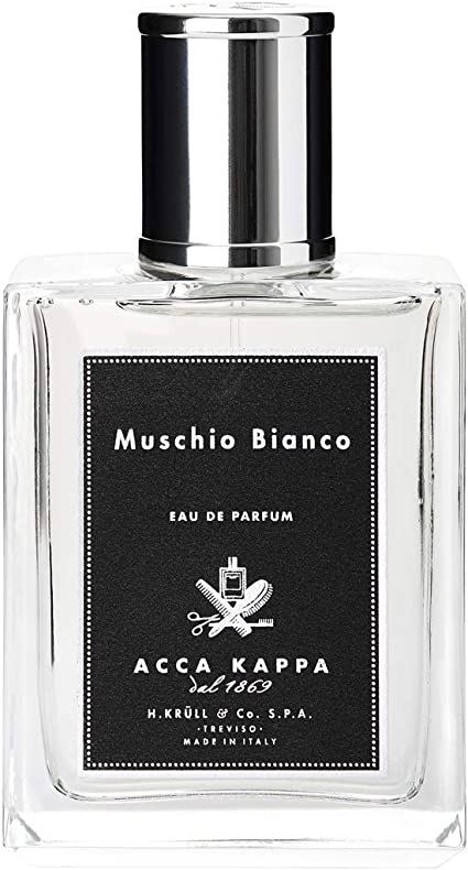 Whitney mamífero Sin lugar a dudas  Muschio Bianco by Acca Kappa White Moss Eau de Parfum Spray 50ml: Amazon.co.uk:  Beauty