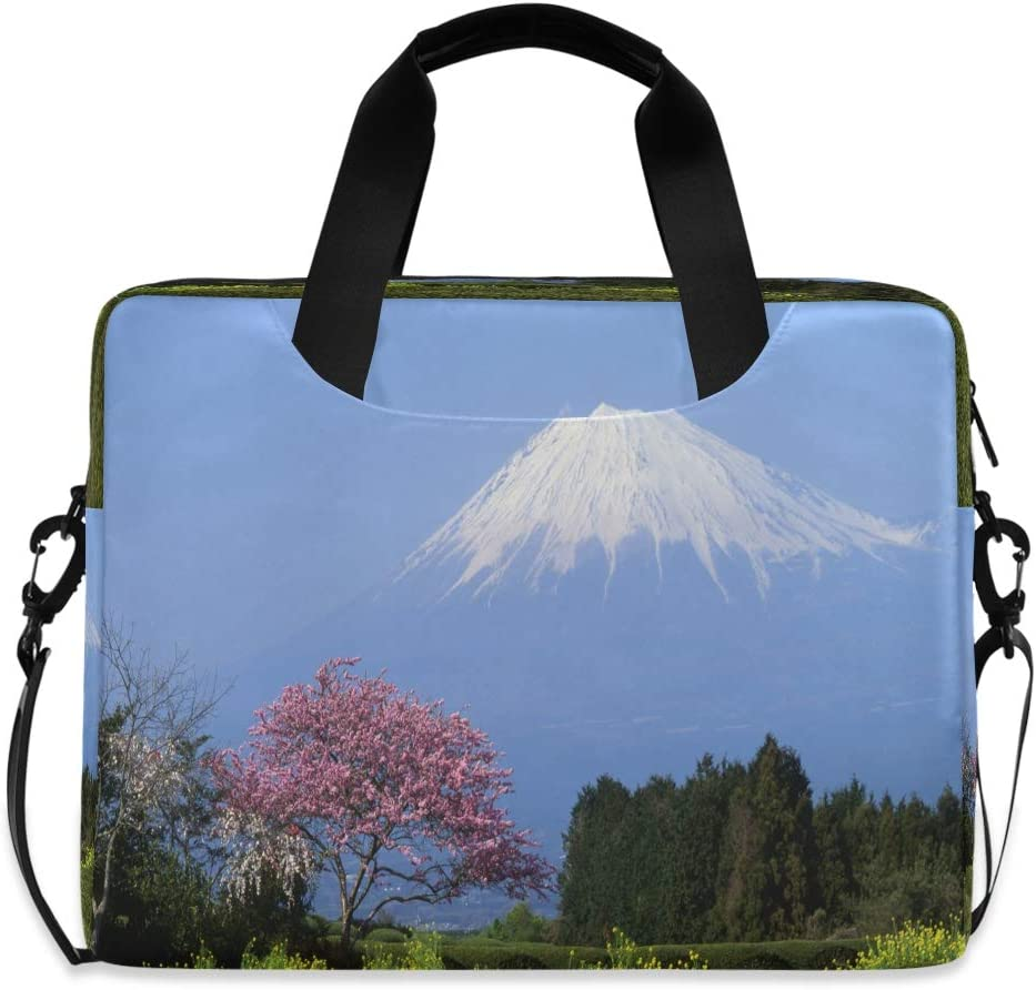 Journey to Japan Land of The Rising Sun Laptop Case 15.6 Inch Carrying Protectiv Case with Strap
