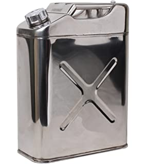 Stainless Steel Water Can 5 Gallon 20 L Portable