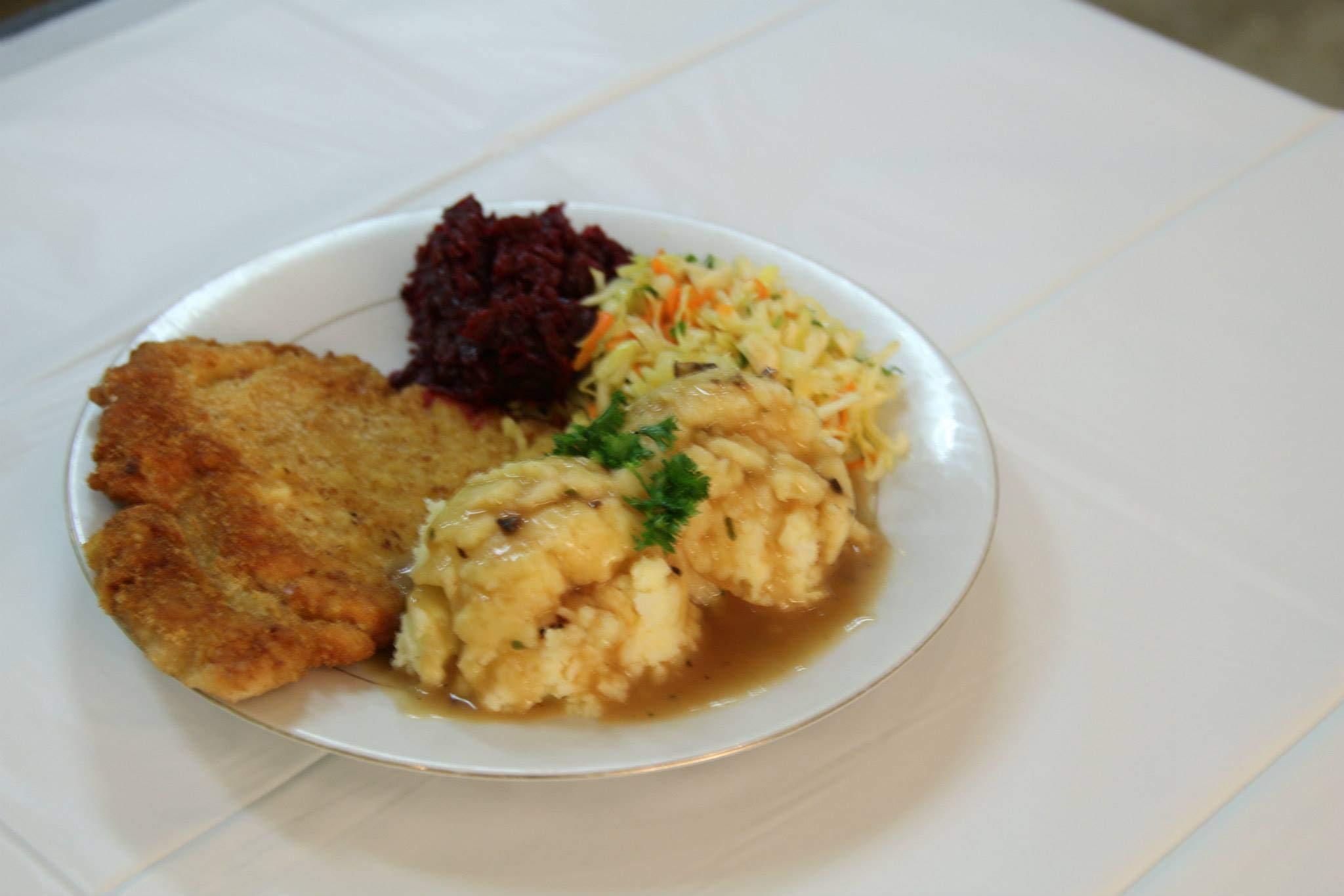 Pork Schnitzel Dinner
